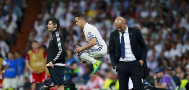 La clave que podría sacar a Lucas V.ázquez del Real Madrid. FOTO: REAL MADRID