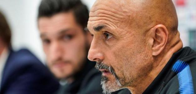 Luciano Spalletti, en rueda de prensa. Foto: Cadenaser.com