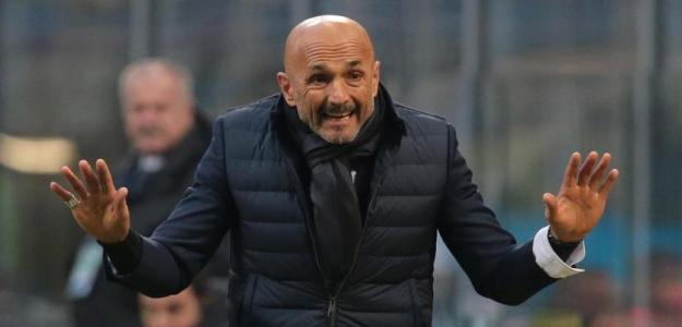 Luciano Spalletti durante un encuentro con el Inter de Milán. Foto: Eurosport.com