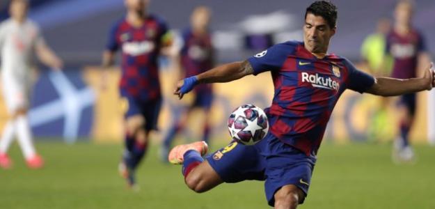 ¿Y si Luis Suárez quiere quedarse?. Foto: Fichajes.com