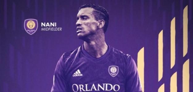 Luis Nani, nuevo jugador del Orlando. Foto: OrlandoCity