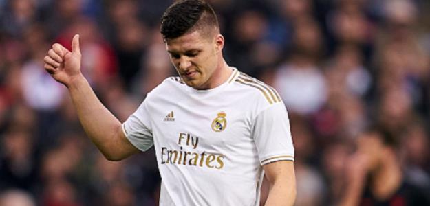"""Luka Jovic cierra su regreso al Eintracht de Frankfurt """"Foto: AS"""""""