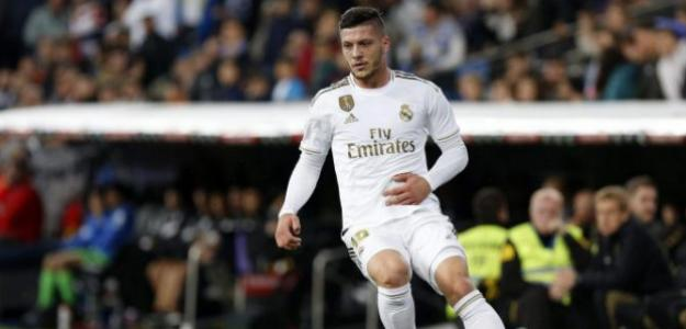 El Leicester City, principal candidato a fichar a Luka Jovic   FOTO: REAL MADRID