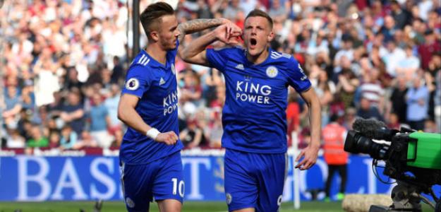 """El objetivo del Madrid juega en el Leicester """"Foto: 90 minutos"""""""