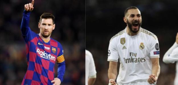 Posibles alineaciones del Madrid-Barça. Foto: MD
