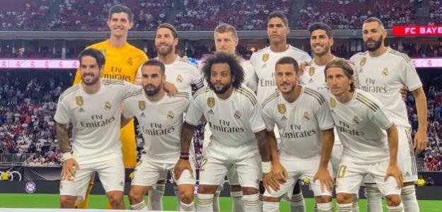 El Real Madrid más solidario en la tarea del gol