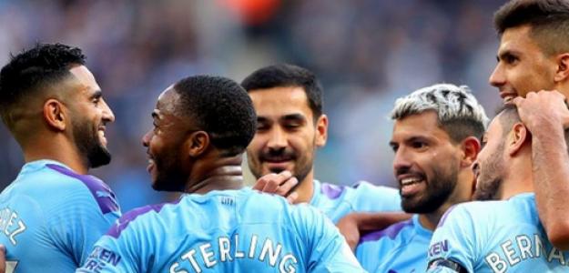 """Las únicas 3 opciones que tiene el Manchester City para su delantera """"Foto: AS"""""""