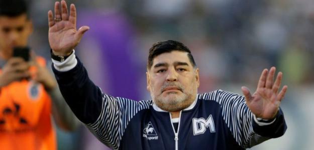 ¿Maradona en España? Foto: AFP