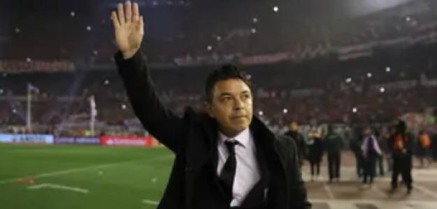 """El delantero que Marcelo Gallardo pidió para River Plate """"Foto: TyC Sports"""""""