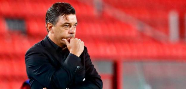 Los tres señalados de Gallardo tras la derrota ante Palmeiras