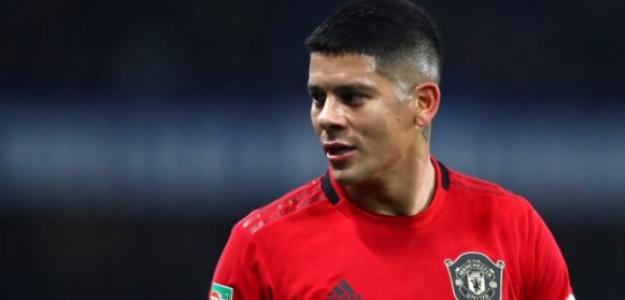 """En México también quieren llevarse a Marcos Rojo, objetivo de Boca Juniors """"Foto: Daily Mail"""""""