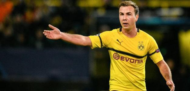 Mario Götze dice adiós al Borussia Dortmund. Foto: AS