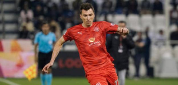 """""""Mario Mandzukic se desvincula del Al-Duhail y queda libre. Foto: Getty Images"""""""