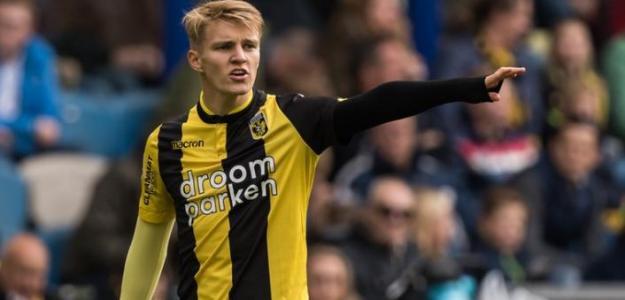 Odegaard, durante su actual cesión (Vitesse)