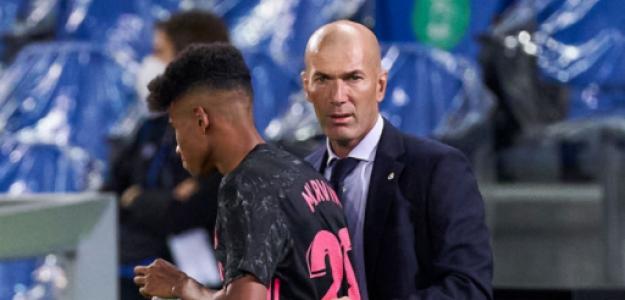 """""""Marvin y Arribas, las dos mejores noticias de un insulso Real Madrid. Foto: Getty Images"""""""