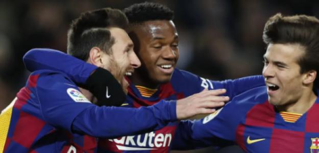 """¿Por qué no juegan más Riqui Puig y Ansu Fati? """"Foto: La Razón"""""""