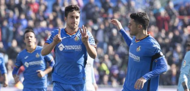 Jaime Mata, celebrando un gol / twitter