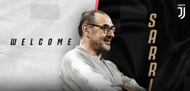 Maurizio Sarri es el nuevo entrenador de la Juventus de Turín / Twitter