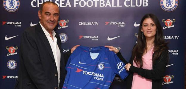 Maurizio Sarri, técnico del Chelsea. Foto: Express