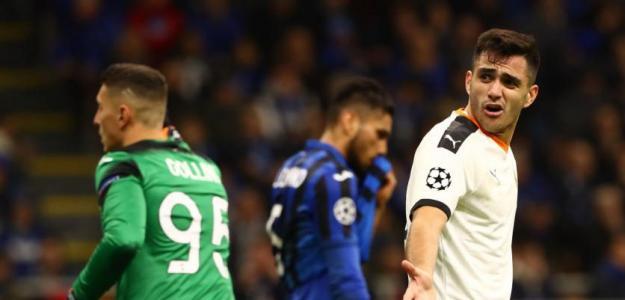 Maxi Gómez no es delantero de Champions. Foto: Antena 3.