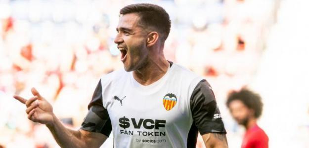 Maxi Gómez, de estar fuera de Mestalla a clave para Bordalás