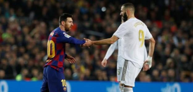 Benzema, una liga a la altura de Messi.