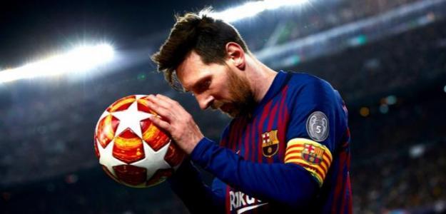 Messi en un partido con el Barcelona. / nytimes.com