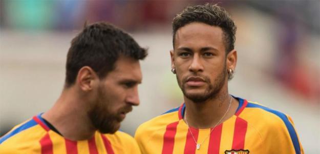 Neymar quiere jugar con Messi el año que viene