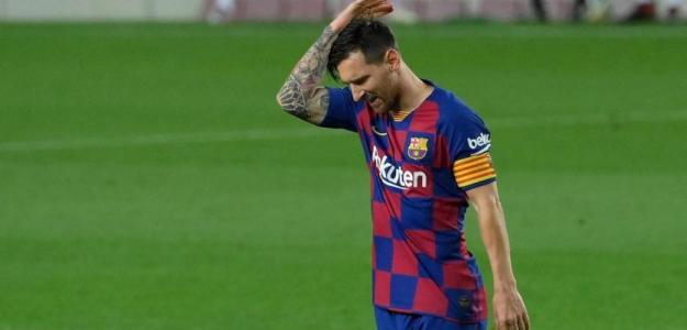 Posturas distanciadas en la primera reunión Messi-Bartomeu