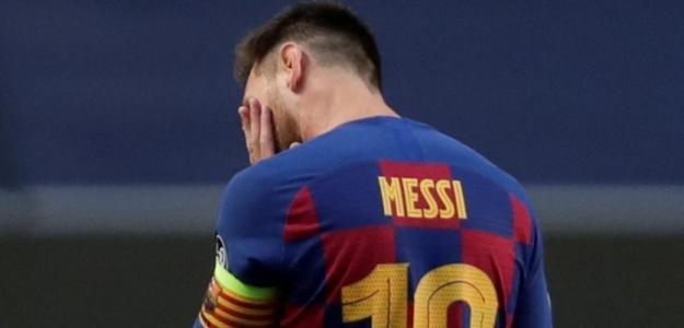Messi dispuesto a abandonar el Barcelona este verano. Foto: Marca Argentina