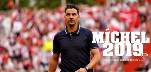 Míchel, entrenador del Rayo Vallecano / Rayo Vallecano