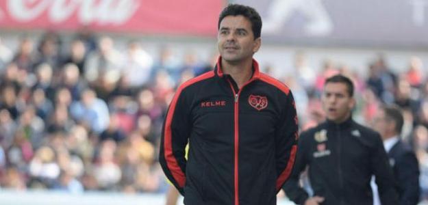 Míchel, entrenador del Rayo Vallecano / LaLiga