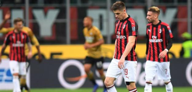 """El inexplicable cambio de rumbo del AC Milan """"Foto: Fox Deportes"""""""