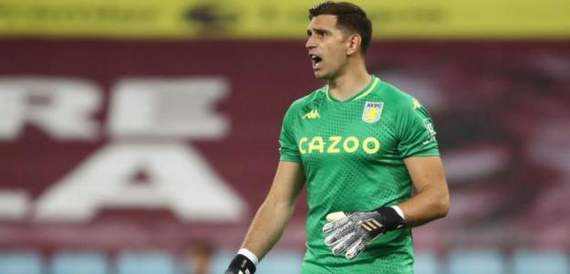 La Juventus echa las redes sobre Emiliano Martínez. Foto: Sky Sports