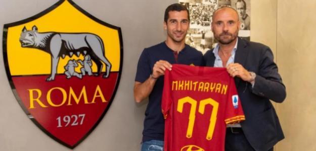 El sorprendente motivo de Mkhitaryan para firmar por la Roma