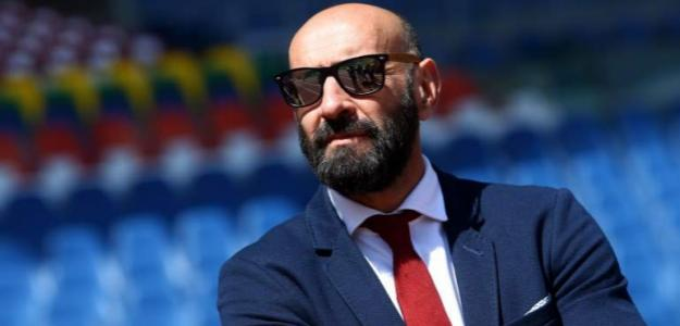 Monchi en su etapa con el AS Roma / Getty