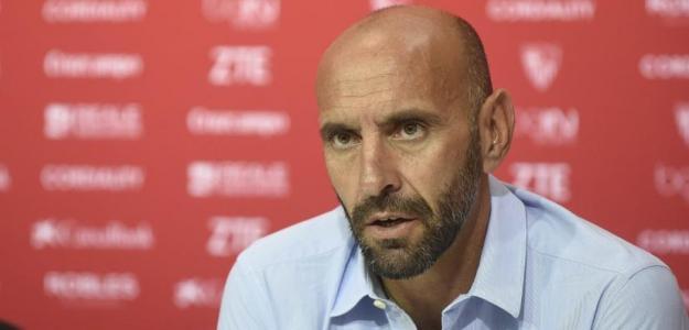 Ramón Rodríguez Verdejo 'Monchi', en rueda de prensa. Foto: Sevillafc.es