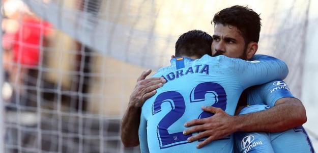 Morata, con Diego Costa / twitter