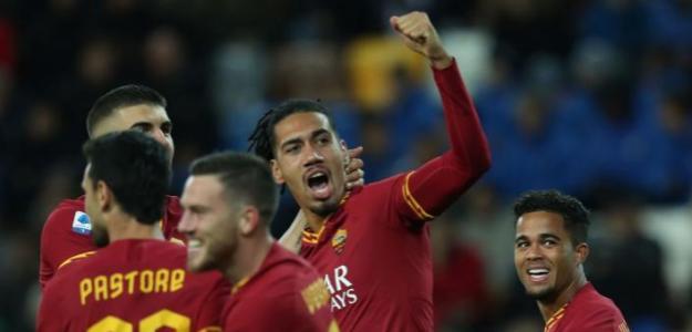 Smalling celebra su gol ante Udinese. / thebusbybabe.sbnation.com