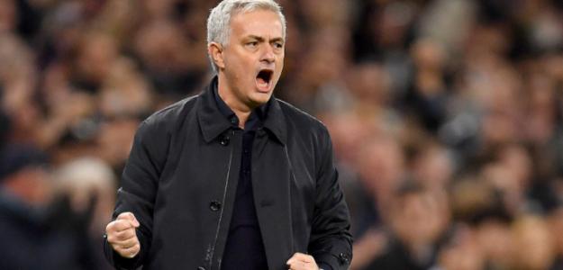 """José Mourinho no fue la primera opción para el banquillo de la Roma """"Foto: Marca"""""""