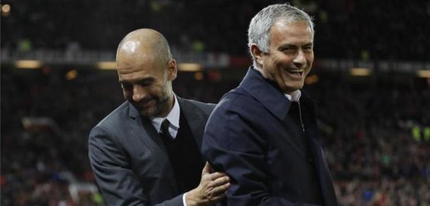 Guardiola y Mourinho con un objetivo común