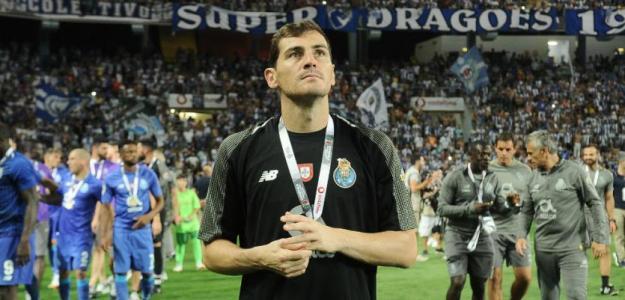 Movilización en Porto para la vuelta de Iker Casillas. Foto: Marca