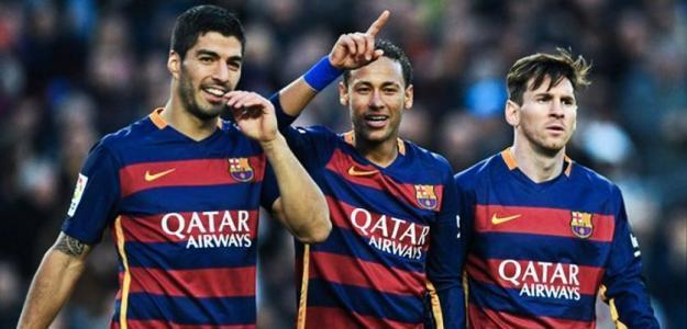 Luis Suárez, Neymar y Leo Messi / Youtube.com.