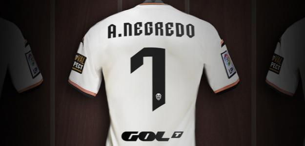 Camiseta de Álvaro Negredo/ Valenciacf.com