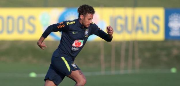 Neymar, ausente en el primer amistoso del PSG. Foto: EFE