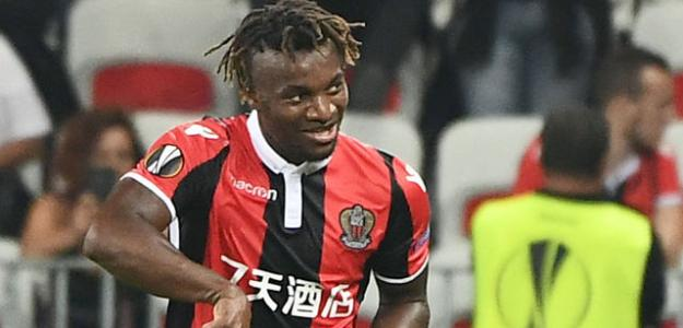 Saint-Maximin, con el Niza (Getty)