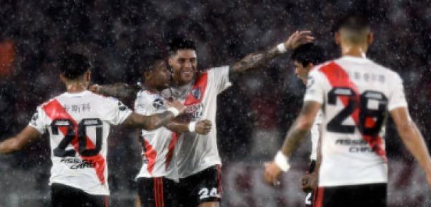 """""""La situación de la plantilla de River Plate. Foto: Getty Images"""""""