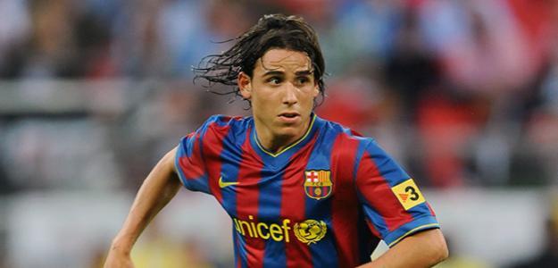 Gai Assulin en un partido con el Barça. / planetfootball.com