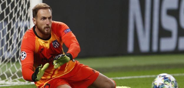 Oblak en el partido ante el Lokomotiv. / atleticodemadrid.com