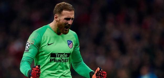 Jan Oblak no se moja sobre su posible salida del Atlético